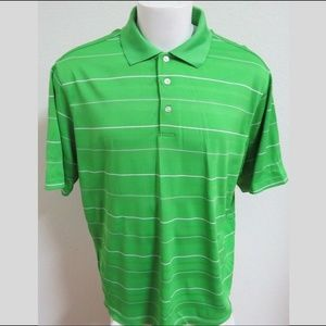 XL Lime Green Walter Hagen Hydro-DRI Men #31Z Polo